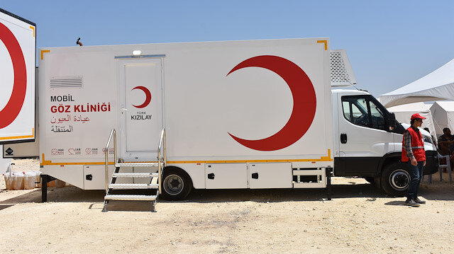 Turkey's Red Crescent launches mobile clinics in Syria