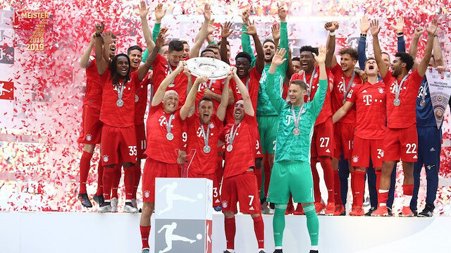 Bayern Münih şampiyon oldu