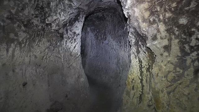 Kapadokya'da evin altından yeraltı şehri çıktı