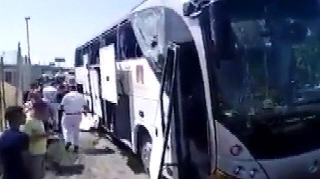 Mısır'da turist otobüsünde patlama: 14 yaralı
