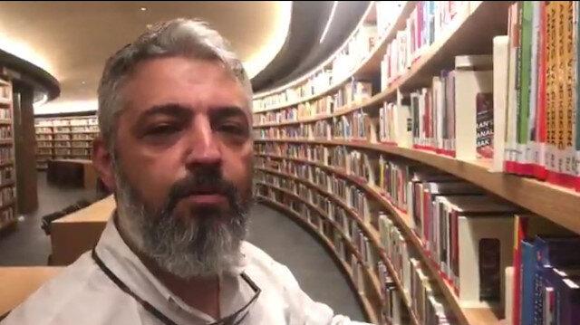 Burası ABD'de bir kütüphane değil Başakşehir Millet Kütüphanesi