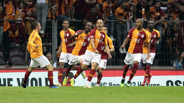 Galatasaray-Başakşehir: 2-1