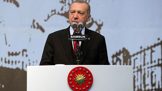 Erdoğan: Bizim kızıl elmamız güçlü Türkiye'nin inşasıdır
