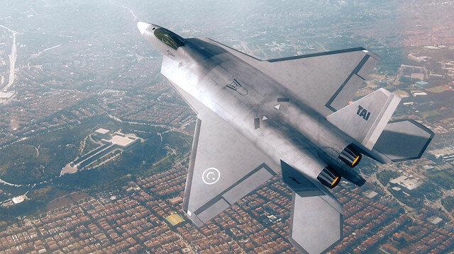 Milli Muharip Uçağı için çalışmalar devam ediyor.