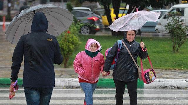 Meteorolojiden 12 ile kuvvetli rüzgar ve fırtına uyarısı