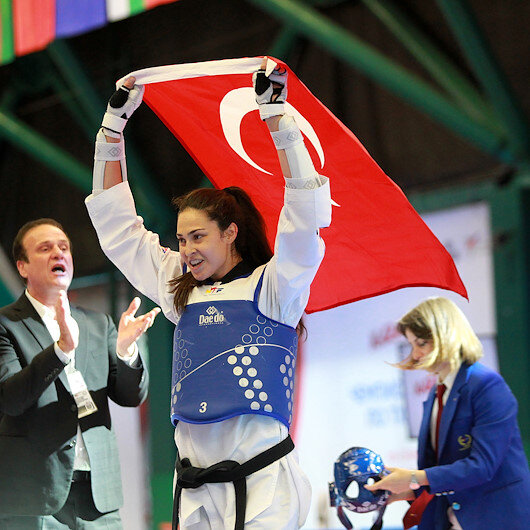 Turkish athlete wins gold in World Taekwondo Championships