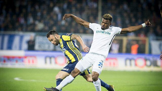 Erzurumspor-Fenerbahçe: 0-1