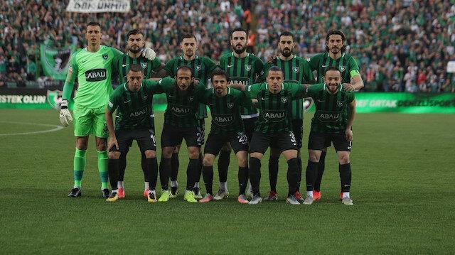 Denizlispor'da 7 futbolcu kaldı