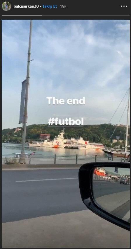 Serkan Balcı'nın Instagram paylaşımı