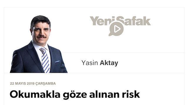 Okumakla göze alınan risk