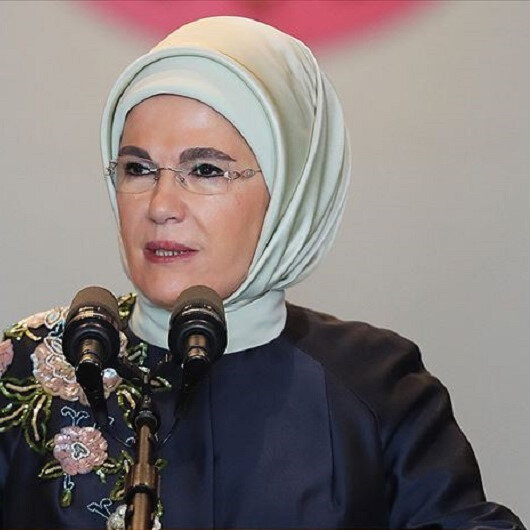 Turkey's first lady lauds nation's healthcare services