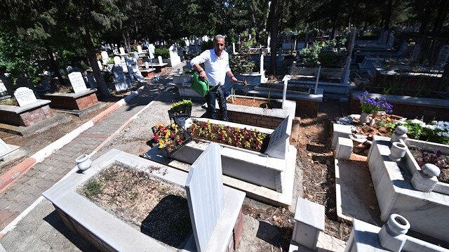 Mezar bakımı için şirket kurdu