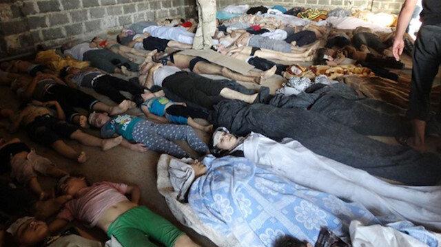 ABD: Esad rejimi Suriye'nin kuzeyinde yeni kimyasal saldırı gerçekleştirdi