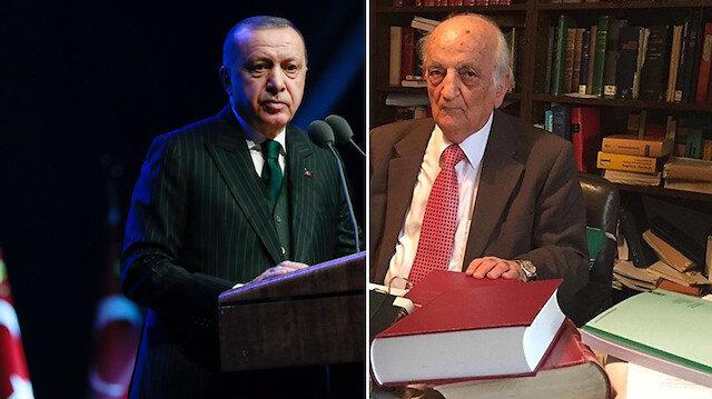 Cumhurbaşkanı Erdoğan: Fuat Sezgin'in hayatı paha biçilmez derslerle doludur