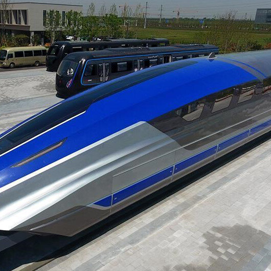China unveals high-speed maglev train prototype