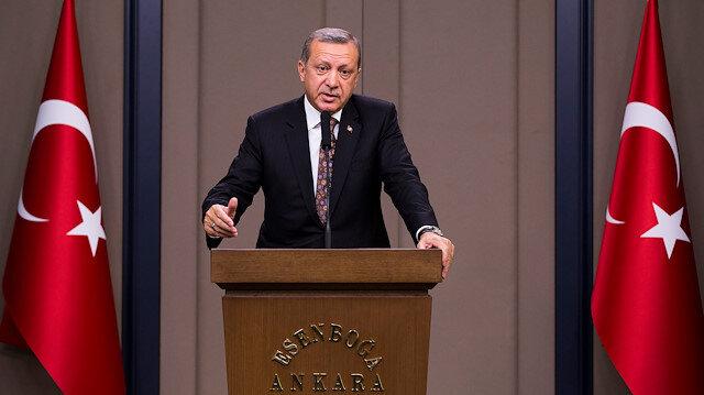 Cumhurbaşkanı Erdoğan: Hedeflerimize yürümeye devam edeceğiz