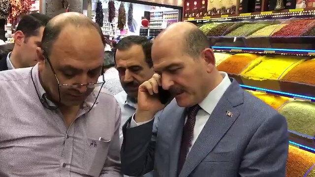 Bakan Soylu Vali Güzeloğlu'nu arayarak vatandaşın isteğini yerine getirdi