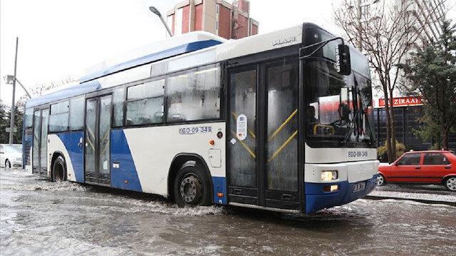 Ankara için sağanak ve dolu uyarısı