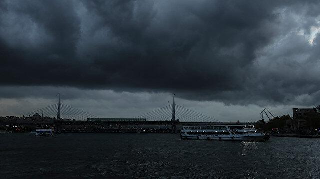 İstanbul'da sağanak yağmur