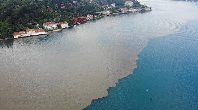 İstanbul Boğazı'nı görenler büyük şaşkınlık yaşadı