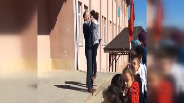 Çankırı'da öğrencilere şiddet uygulayan müdür