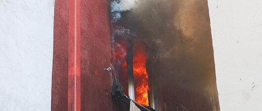 Ataşehir'deki yangında can pazarı