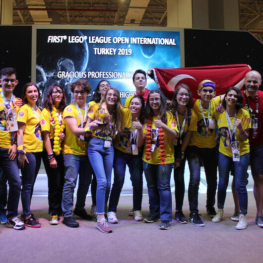 Young inventors from 40 countries honored in robotics contest in Turkey