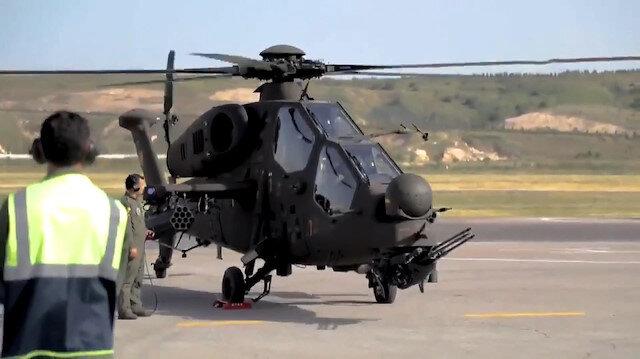 Jandarmadan yeni Atak helikopteri tanıtımı