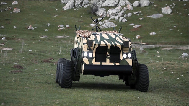 6x6 insansız kara aracı BOĞAÇ özellikleriyle göz dolduruyor