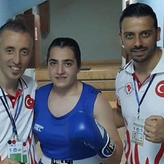 Turkish female boxer wins gold in European championship