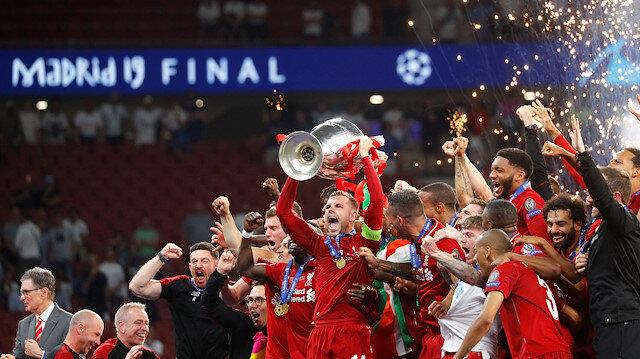 Liverpool, 6. kez Şampiyonlar Ligi şampiyonu.