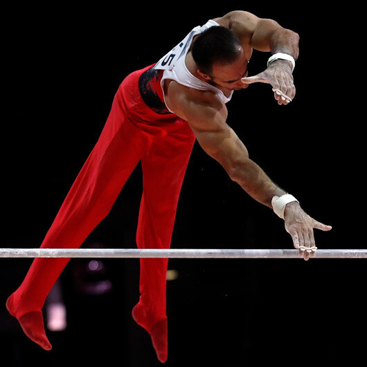 Turkish gymnast wins gold medal at World Challenge Cup