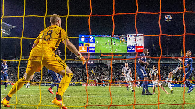 Zlatan Ibrahimovic'in gol vuruşu