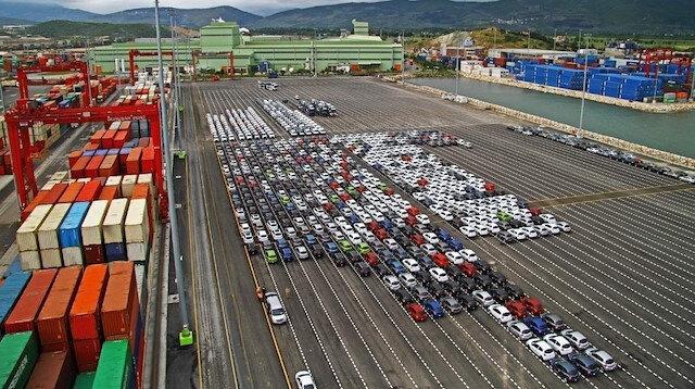 Otomotiv ihracatı mayısta 2,7 milyar dolar oldu