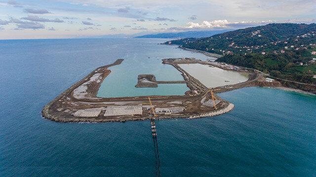 Denize ikinci havalimanında çalışmalar tam gaz sürüyor