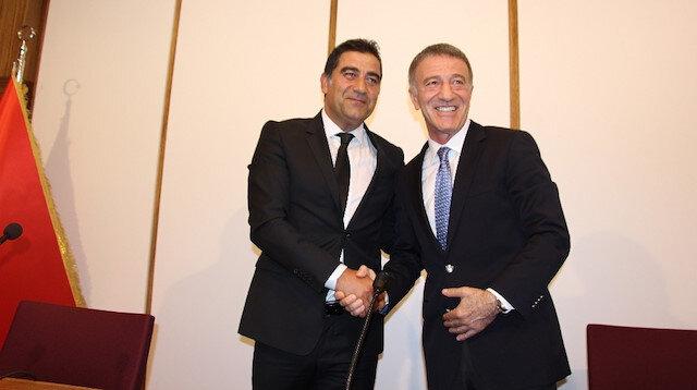 Ünal Karaman, Trabzonspor ile 2 yıllık sözleşme imzaladı.