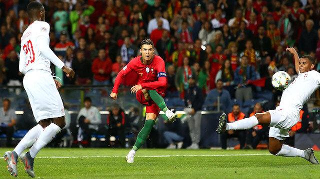 Ronaldo'dan hat-trick: Portekiz 3-1 İsviçre (Geniş özet ve goller)