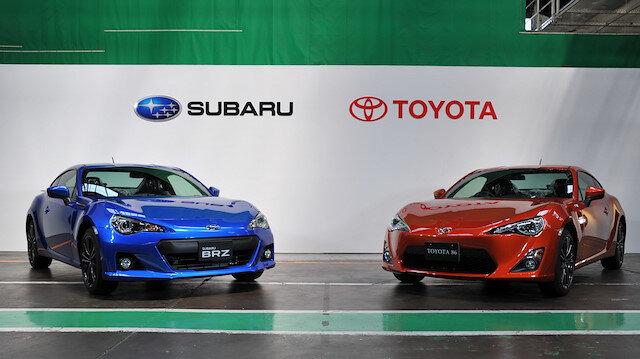Toyota ve Subaru yakın bir geçmişte ortak model üretmişti.