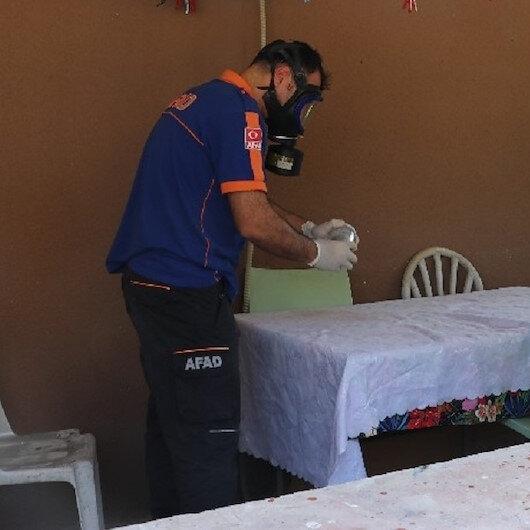 Kocaeli'de ekipleri alarma geçiren toz