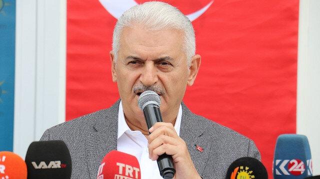 Binali Yıldırım Diyarbakırlıları Kürtçe konuşarak selamladı