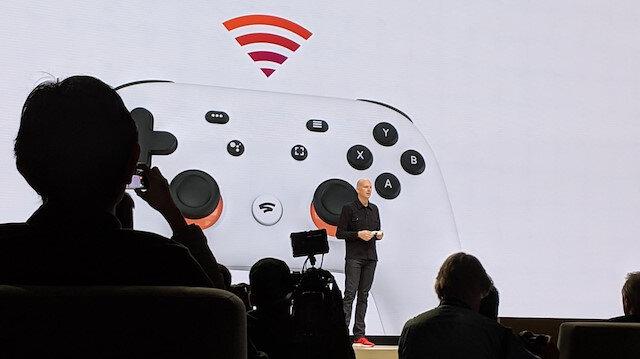 Google Stadia Mart ayındaki etkinlikte tanıtılmış ve büyük ses getirmişti.