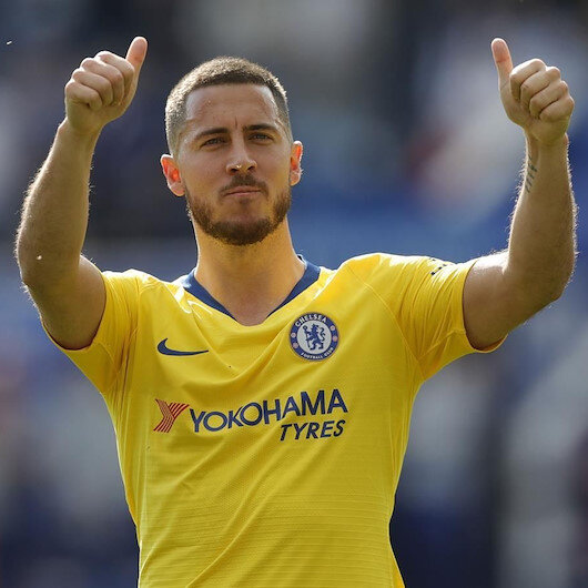 Eden Hazard Real Madrid'e transfer oldu