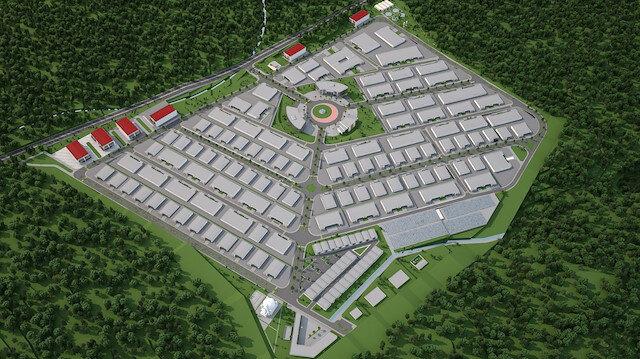 Ankara'nın Elmadağ ilçesinde organize sanayi bölgesi kurulacak.