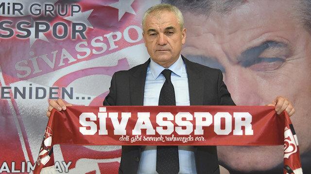 Sivasspor, Rıza Çalımbay'la 1 yıllık sözleşme yaptı.