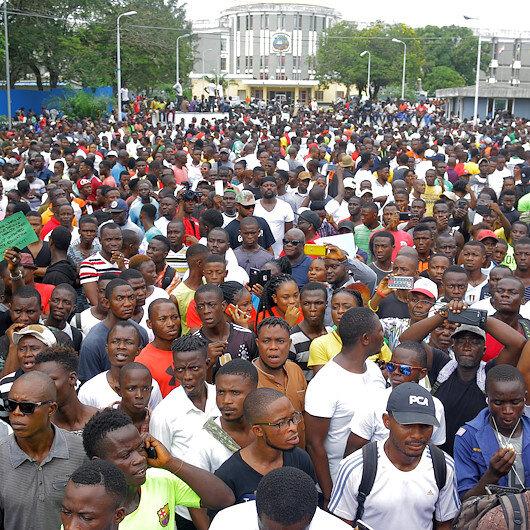 Thousands protest in Liberia against corruption, economic decline