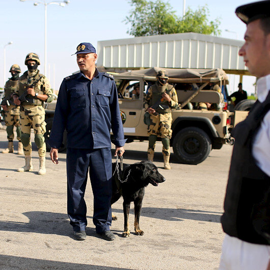 Egypt police kill 8 militants after checkpoint attack