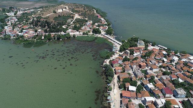 2 bin 600 yıllık Gölyazı köyünde bayram yoğunluğu