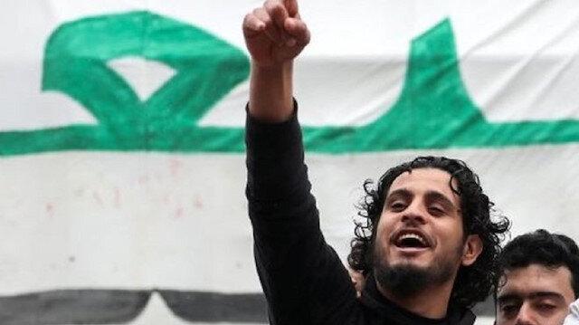 Syrian revolution icon Abdelbaset  Sarout