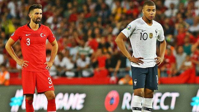 Mbappe, Türkiye ile oynanan maçta Hasan Ali karşısında oldukça zorlandı.