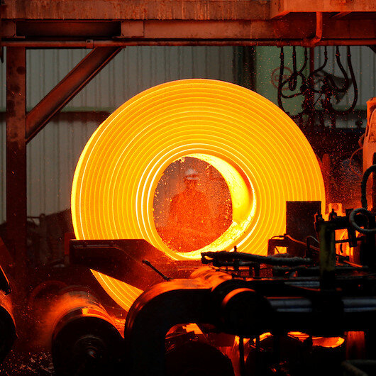 Turkey's crude steel output up in April